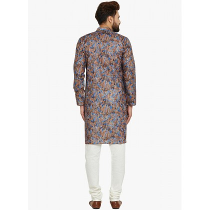 Multi Color Printed Kurta