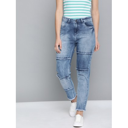 Stretchable Jeans In Blue